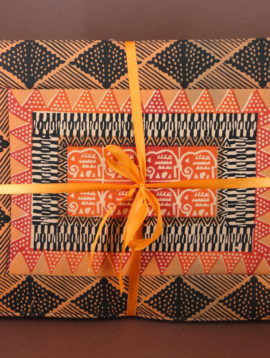 STOFFE mit Kudhinda- und Batikdruck