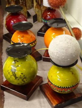 MONKEY BALLS, Mobile, Kalebassen, Strausseneier